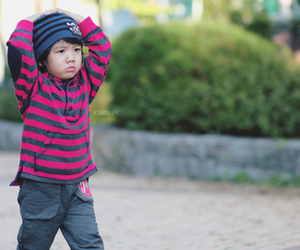 kid, korean, and ulzzang image