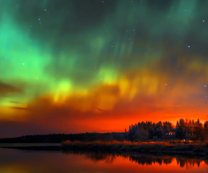 aurora, colors, and cielo image