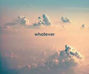whatever, sky, and clouds image