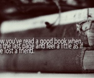book, friends, and quote image