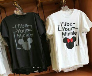 minnie, mickey, and couple image
