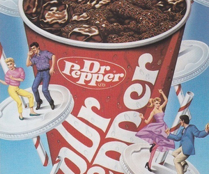retro, dr pepper, and vintage image
