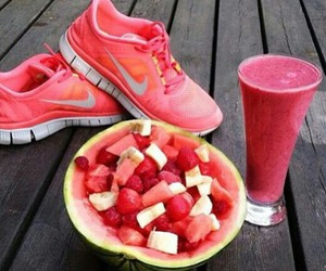 fruit, healthy, and pink image