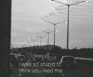 stupid, sad, and quotes image