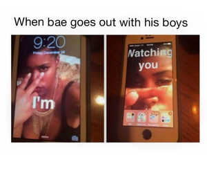 funny and bae image
