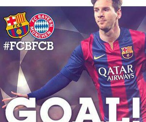 champions league, fc barcelona, and messi image