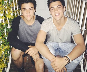 dolan twins, ethan dolan, and grayson dolan image