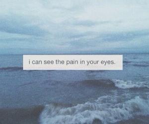 pain, sad, and eyes image