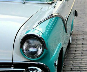 1950's, rockabilly, and classic car image