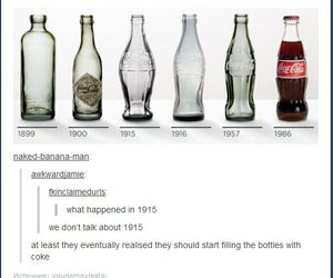 funny, coke, and 1915 image