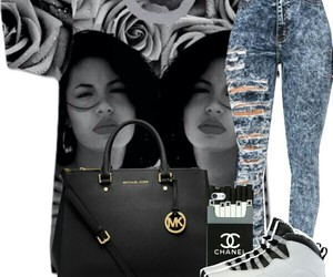 Polyvore, Queen, and selena image