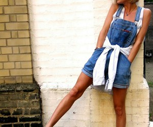 fashion, overalls, and style image