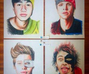 5sos, 5 seconds of summer, and don't stop image