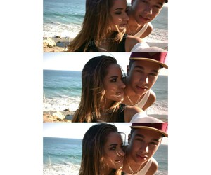 cute couple, becky g, and austin mahone image
