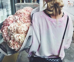 boy, flower, and chanel image