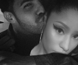 Drake, nicki minaj, and couple image
