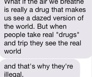 drugs, air, and illegal image
