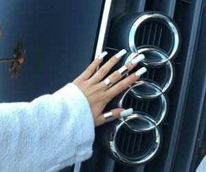 audi, nails, and luxury image