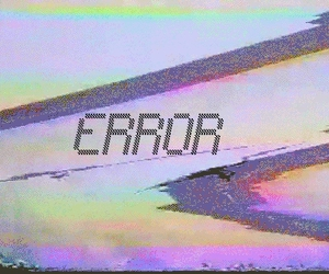 error, grunge, and indie image