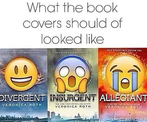 insurgent, divergent, and book image