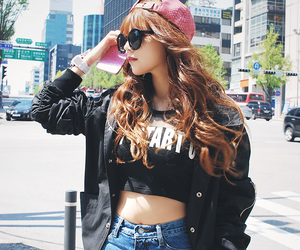 beautiful, cap, and jeans image