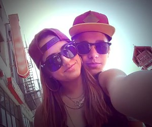 becky g, austin mahone, and love image