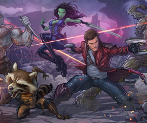 guardians of the galaxy, Marvel, and groot image