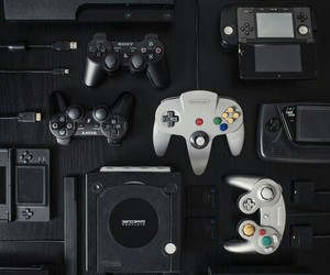 PS2 and game image