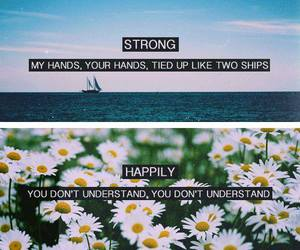 one direction, strong, and happily image
