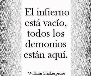 frases, hell, and william shakespeare image