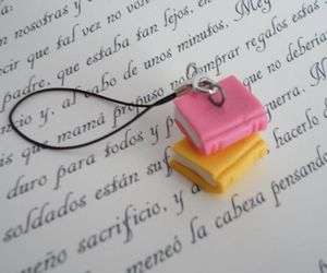 bookish, polymer clay, and books image