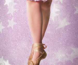 ballerina, feet, and shoes image