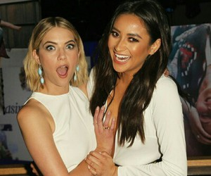 ashley benson, shay mitchell, and buttahbenzo image