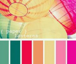 ballons and color palette image