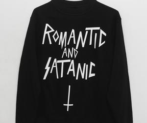 fashion, satanic, and style image