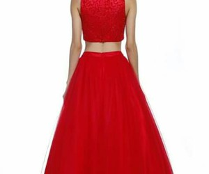 dress, elegant, and party image