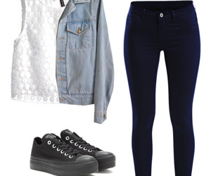 clothes, convers, and outfits image