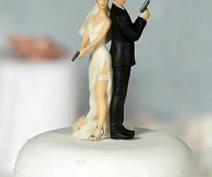 wedding, cake, and marriage image