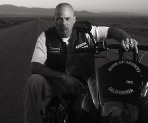 happy, sons of anarchy, and david labrava image