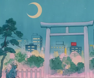 beautiful, japanese, and anime scenery image