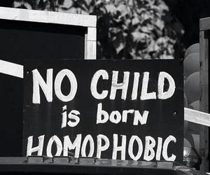 homophobic, child, and gay image