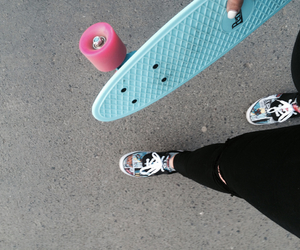 penny, skate, and vans image