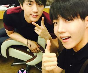 bts, jin, and j-hope image