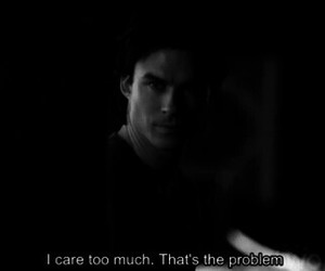 ian somerhalder, the vampire diaries, and problem image
