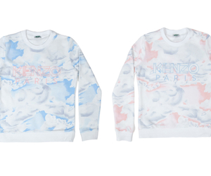 clouds, Kenzo, and love image