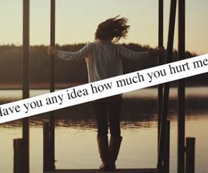 love, hurt, and feelings image