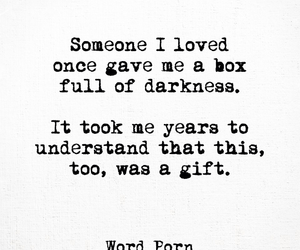 beautiful, love, and Darkness image