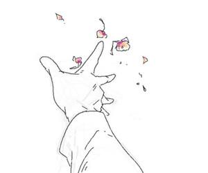 flowers, art, and manga image