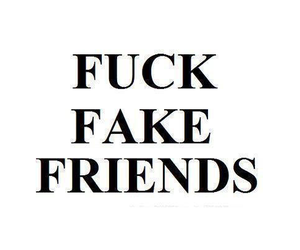 best friends, fuck fake friends, and bff image