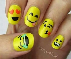 nails, радость, and smiley image